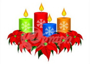 christmas-candles-and-poinsettia-ch_gg61996261