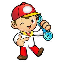 39300640-red-delivery-man-mascot-to-answer-a-phone-call-orders